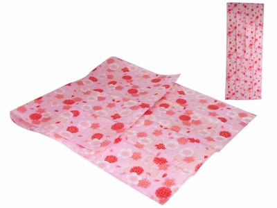 Pink Spring Cherry Blossoms Tenugui Japanese Hand Towel
