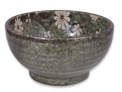 Serene Meadow of Cosmos Japanese Donburi Bowl