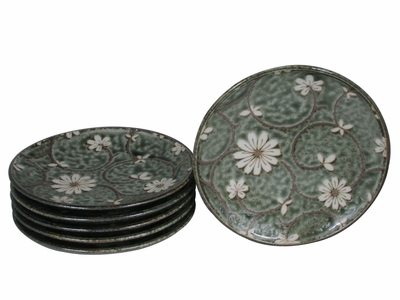 Serene Meadow of Cosmos Oriental Dinner Ware Set for Six