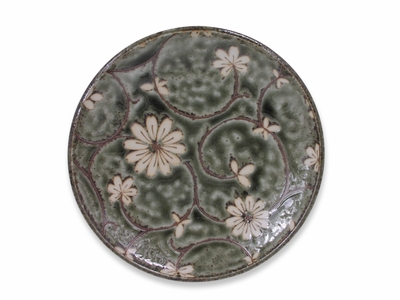 Serene Meadow of Cosmos Small Japanese Dinner Plate