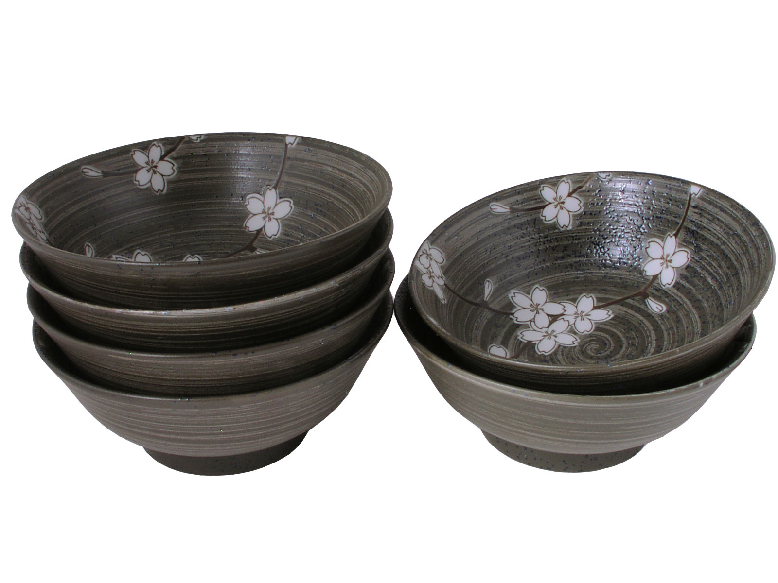 Spring Forest Cherry Blossoms Collection Ramen Bowl Set