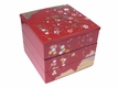 Three Tier Red Japanese Lacquer Style Container