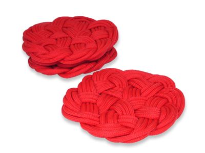 Traditional Chinese Decorative Knot Coasters Set of Four