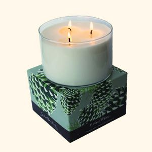 Roland Pine 3-Wick Candle