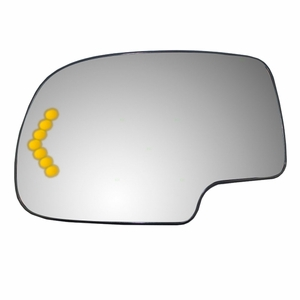 New ADR Side View Mirror Glass LH