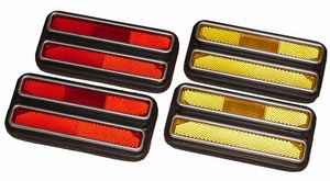 New DOT Replacement Side Marker Lamp Set