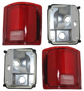New DOT Replacement Tail Light Assembly - Pair