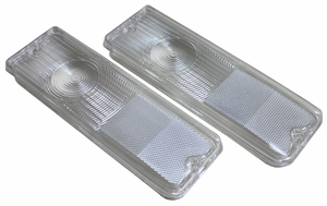 New DOT Replacement Tail Light Lens - Pair