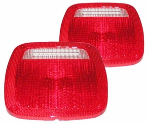 New DOT Replacement Tail Light Lenses - PAIR