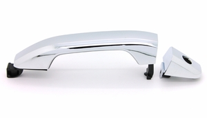 New LatchWell Chrome Outside Door Handle - LH Front