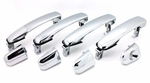 New LatchWell Chrome Outside Door Handle Set