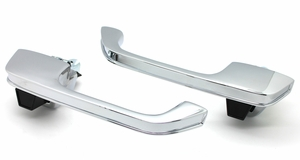 New LatchWell Chrome Outside Door Handles