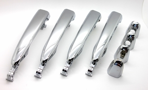 New LatchWell Chrome Replacement Door Handles