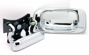 New LatchWell Chrome Tailgate Handle & Bezel