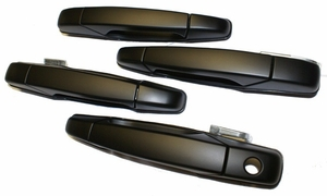 New LatchWell Outside Door Handle Set - Black