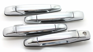 New LatchWell Outside Door Handle Set - Chrome