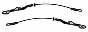 New LatchWell Set of Tailgate Cables