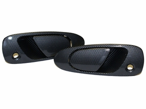 New LatchWell Simulated Carbon Fiber Door Handles