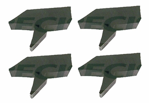 New Precision Weatherstripping Hood / Fender Bumpers / BMP 020 x 4