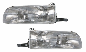 New Replacement DOT Headlight Assemblies - PAIR