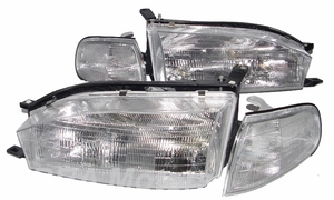 New Replacement DOT Headlight & Corner Light - SET
