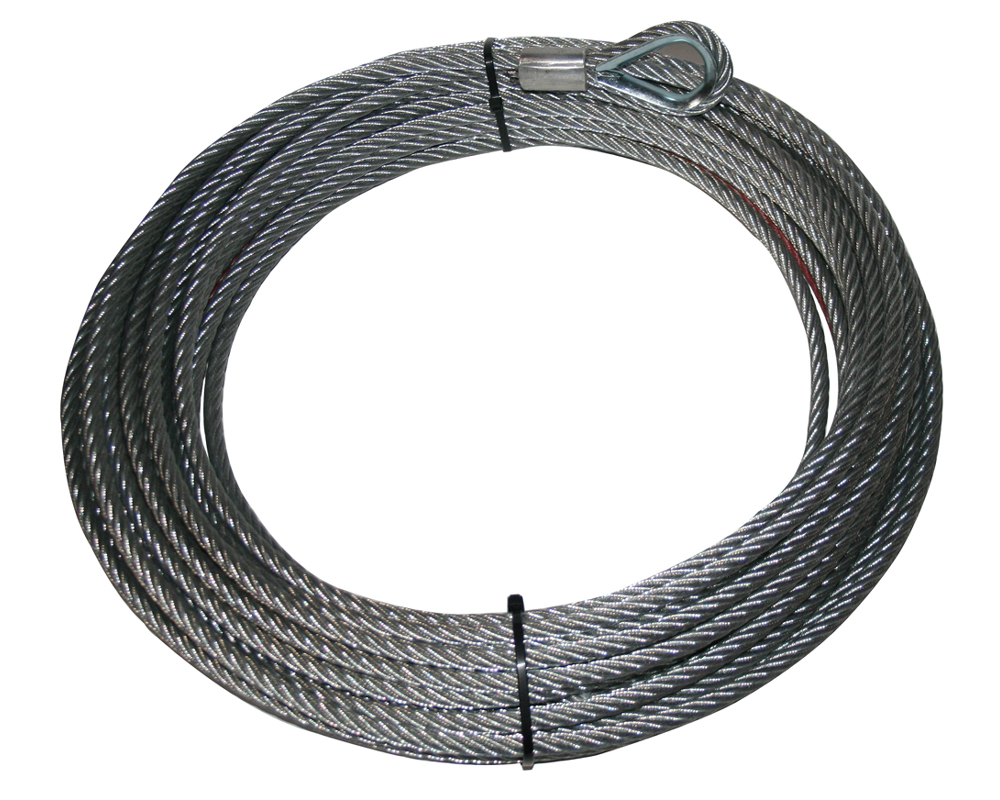 New Wire Rope Winch Cable / 3/8\