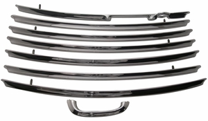 Trim Parts: 1398 / New 1955-1957 Tailgate Trim Set