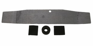 Trim Parts: 1402 / New 1957 Grille Bar Emblem Installation Kit