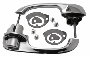 Trim Parts: 2115 / New 1961-1962 Chevy Full Size Front Outside Door Handle Set