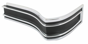 Trim Parts: 2463A / New 1965 Impala SS & Caprice Rear Corner Molding, Right