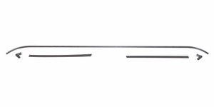 Trim Parts: 3009 / New 1962-1965 Rear Window Trim Set