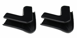 Trim Parts: 3012 / New 1962-1965 Rear Window Upper Corner Trim