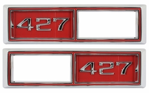 Trim Parts: 4524A / New Front Marker Light Bezel, 427
