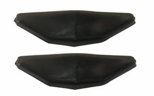 Trim Parts: 4579 / New 1969-1972 Hard Top Roof Rail Window Guides