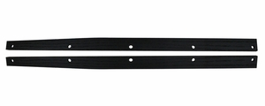 Trim Parts: 5262 / New 1956-1960 Corvette Sill Plate Spacers, White Oak