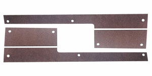 Trim Parts: 5264 / New 1961-1962 Corvette Sill Plate Spacers