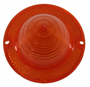 Trim Parts: A2060A / New 1960 Chevy Impala Tail Light & Turn Signal Lens, Amber