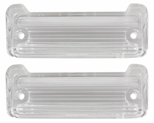Trim Parts: A2555 / New 66-67 Caprice & 66 Impala Back Up Light Lens