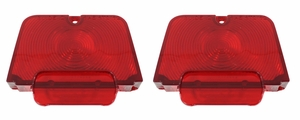 Trim Parts: A3037 / New 1962-1964 Chevy II/Nova Tail Light Lens