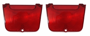 Trim Parts: A3041 / New 1962-1964 Chevy II/Nova Red Back Up Light Lens