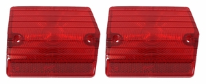 Trim Parts: A3050 / New 1965 Chevy II/Nova Tail Light Lens