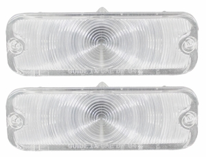 Trim Parts: A4247C / New 1964 Parking Light Lens, Clear