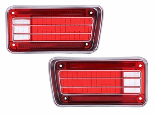Trim Parts: A4260S / 1970 Chevelle & Malibu Tail Light Lens Set