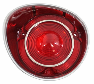 Trim Parts: A4402 / New 1971 Chevelle SS Tail Light Lens