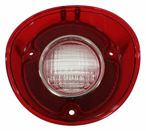 Trim Parts: A4426 / New 1972 Chevelle SS Back Up Light Lens