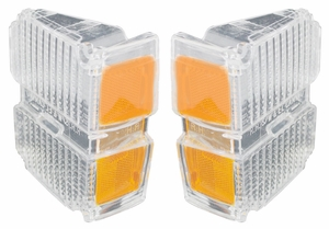 Trim Parts: A4825 / New 1971 Parking Light Lens