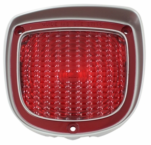 Trim Parts: A4874A / New 1973-1977  Tail Light Lens, LH