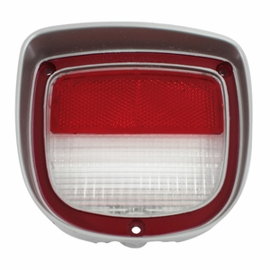 Trim Parts: A4875 / New 1973-1977 Back Up Light Lens, RH