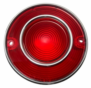 Trim Parts: A5820 / New 1975-1979 Corvette Tail Light Lens Assembly