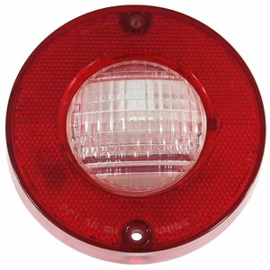 Trim Parts: A5828 / New 1980-1982 Corvette Back Up Light Lens Assembly